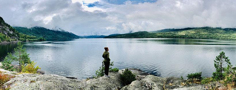 Michelle in Noorwegen